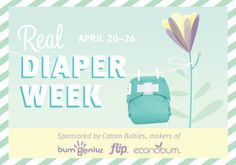Cotton Babies is hosting a scavenger hunt for Real Diaper Week! Hope I win something! #clothdiapers