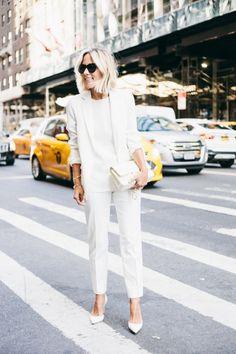 Damsel in Dior | Tout Blanc #StJohnKnits sjk.com