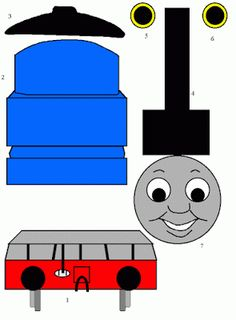 Thomas and Friends: Thomas the Tank Engine Paper Craft