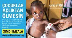 Unicef ile Aç Çocuklara Sadece Bir İmza ile Destek Olun ! #ad