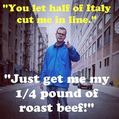 Yeah, I'm a tough guy! #hoboken #roastbeef @mothstories http://youtu.be/izEjBHxdXCI