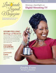📰 Lemonade Legend Magazine – Featuring Zondra Evans - Issue 3
