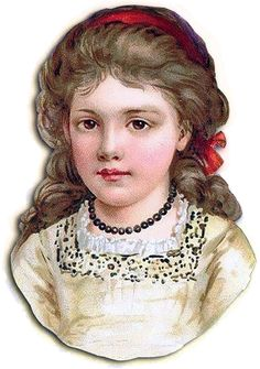 #Enfant #victorien #fillette #vintage #Belle-Époque #vieillot