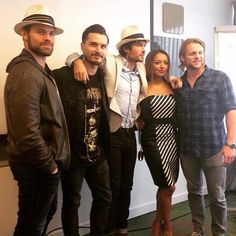 #bloodynightcon_europe w/ Daniel Gillies, Ian Somerhalder, Kat Graham, Chris Wood Michael Malarkey and Chase Coleman