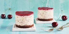 Cukormentes sztracsatellás túrótorta meggyzselével - mini és maxi kiszerelésben   Sweet & Crazy Minion, Vanilla Cake, Tiramisu, Cheesecake, Gluten, Sugar, Healthy, Ethnic Recipes, Food