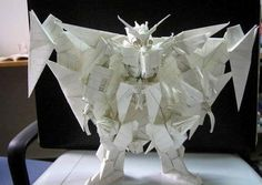 <b>Origami is more than swans and cranes.</b> There is some straight crazy/awesome stuff out there. Check it out.