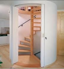 Best Enclosed Spiral Staircase Interesting Way To Separate 400 x 300