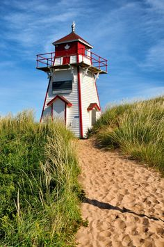 Lighthouse - Prince Edward Island National Park, P.E.I., Canada