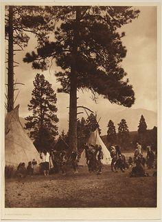 A Flathead Dance, 1910 Edward Sherrif Curtis 1911, 20th century