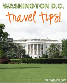 26 Fun Things to See and Do in Washington DC! ~ from TheFrugalGirls.com ~ you'll love these fun insider travel tips for your next D.C. vacation! #vacations #thefrugalgirls