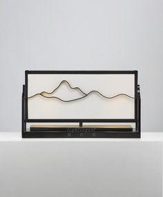 【Lightingest】Zen Chinese style Landscape table lamp【最灯饰】5月新品禅意新中式山水设计师样板房茶室台灯
