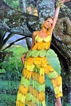 Veruschka in Pucci, 1970s? Roses & Tulips: The 70's: The years of the flower power and Studio 54