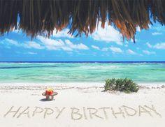 Happy birthday + beach - Google Search