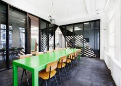 Superheroes Agency Amsterdam Office Design by Simon Bush-King Architecture