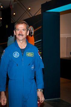 Canadian Astronaut Chris Hadfield Science Gallery, Chris Hadfield, Astronaut, Earth, Space, Life, Display, Astronauts