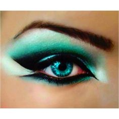 Looks like its inspired by arabian makeup :) well to me.
