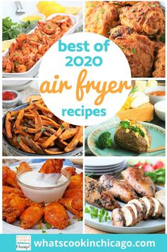 We made it through another delicious, food-filled year! Here is a list of the best Air Fryer recipes I made this year! This year, I focused on beginner recipes to test out the versatility of an air fryer - in fact, I find the air fryer to be much easier to use compared to an electric pressure cooker! I can't wait to get started on 2021 recipes to try out and share! Until then, here's a fond farewell to 2020 and a delicious outlook for 2021! Air Fryer Fried Chicken, Air Fryer Baked Potato, Desserts For A Crowd, Fancy Desserts, Beginner Recipes, Best Air Fryers, Cinnamon Chips, Fruit Salsa, Everything Bagel