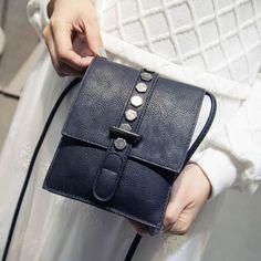 (12.78$) Xiniu Women bags Women Fashion  Rivet Pattern Shoulder Bag Small Phone Bags Ladies Purse #LREW