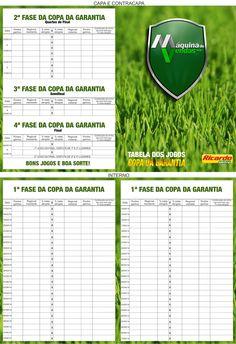 Tabela Copa da Garantia - Loja Ricardo Eletro Tabela criada para a campanha Copa da Garantia do Grupo Máquina de Vendas.