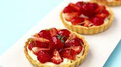 Erdbeer-Mascarpone-Torteletts