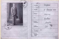 Jozef Wsol war passport