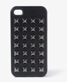Spiked faux leather iPhone case.