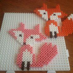 Fox hama beads by michelebayolsen