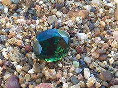 Gorgeous natural green Capricorn sapphire