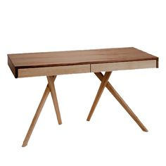 Cute stance! Legs Crossed Desk by Steuart Padwick
