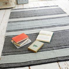 Large Herringbone Floor Rug | Tweedy Tweedy - Floor Rugs | Loaf
