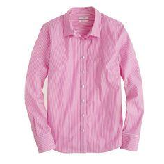 J.Crew - Stretch perfect shirt in classic stripe