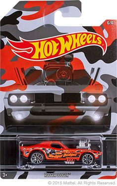 Hot Wheels Camouflage Rodger Dodger Carros Hot Wheels, Miniature Cars, Matchbox Cars, Hot Wheels Cars, Collector Cars, Car Brands, Diecast, Camouflage, Geek Stuff