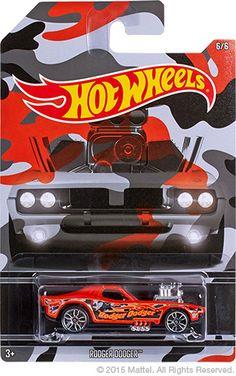 Hot Wheels Camouflage Rodger Dodger
