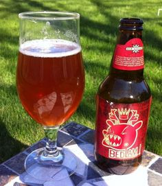 Bedlam beer from Ale Asylum has been the household favorite this summer.  Tasty, Belgian IPA