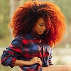 Big Afro hairstyles are basically the bigger and greater version of the Afro hairstyles. Afro which is sometimes shortened as 'FRO, is a hairstyle worn naturally outward by The African American black people. How To Grow Natural Hair, Grow Long Hair, Big Hair, Big Natural Hair, Natural Women, Natural Curls, Crazy Hair, Natural Beauty, Natural Afro Hairstyles
