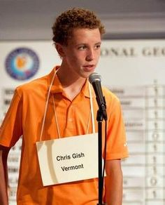 Vermonter has fun at National Geographic Bee