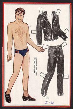 John Travolta paper doll...