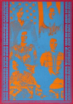 Big Brother and The Holding Company, San Francisco, 1967 concert #poster