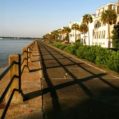Morning on the Battery Charleston