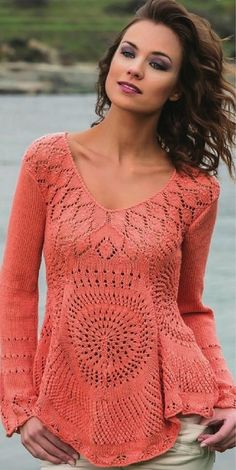 pullover. Discussion on LiveInternet - Russian Service Online Diaries (Tunic Top Charts)