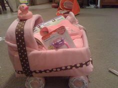 How to make a Diaper Carriage
