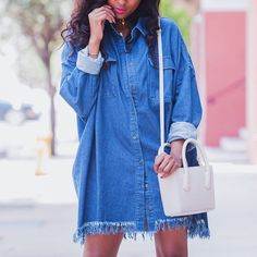 Denim dayz. @riamichelle || Shop denim: http://www.nastygal.com/clothes-bottoms-denim?utm_source=pinterest&utm_medium=smm&utm_term=nastygals_do_it_better&utm_campaign=ngdib