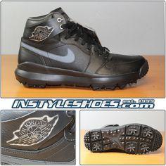 e1a459ecfdbf Nike Air Jordan 1 Golf Premium Black 3M Retro AH2114-001 10.5  shoes
