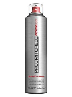 This Best of Beauty-winning Paul Mitchell heat-protecting spray will protect hair from heat and humidity and won't weight hair down.