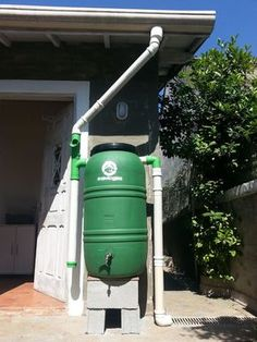 """Excellent """"rainwater harvesting architecture"""" detail is offered on our web pages. Read more and you wont be sorry you did. Water Collection System, Rainwater Harvesting System, Water From Air, Rain Barrel, Water Storage, Backyard, Patio, Water Tank, Home Improvement"""