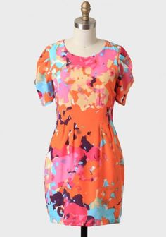 All Things Wondrous Watercolor Dress | Ruche