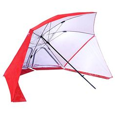 EasyGo BrellaTM The Ultimate 2 in 1 Umbrella Shelter  Works as a Sport or Beach Canopy Tent  Opens in 5 Seconds 100 Satisfaction Guaranteed -- Want additional info? Click on the image.