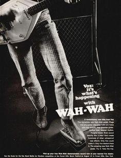 mojofilter66:    VOX wah wah pedal