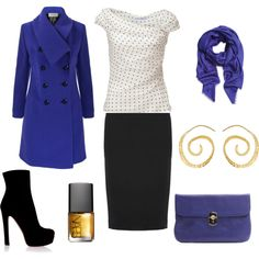 I have a similar coat in the same color and I think I will copy this look! I simply need to buy a matching bag! ;)