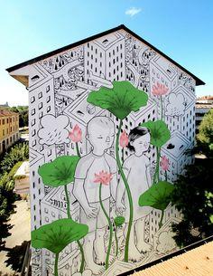 Francesco Camillo Giogino, In Bloom, Italy, Milano